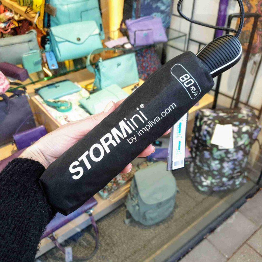 Storm paraplu zwart