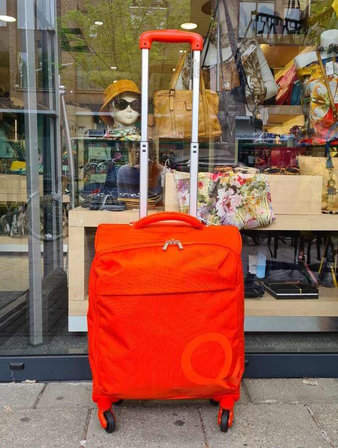 handbagage koffer 55 cm oranje