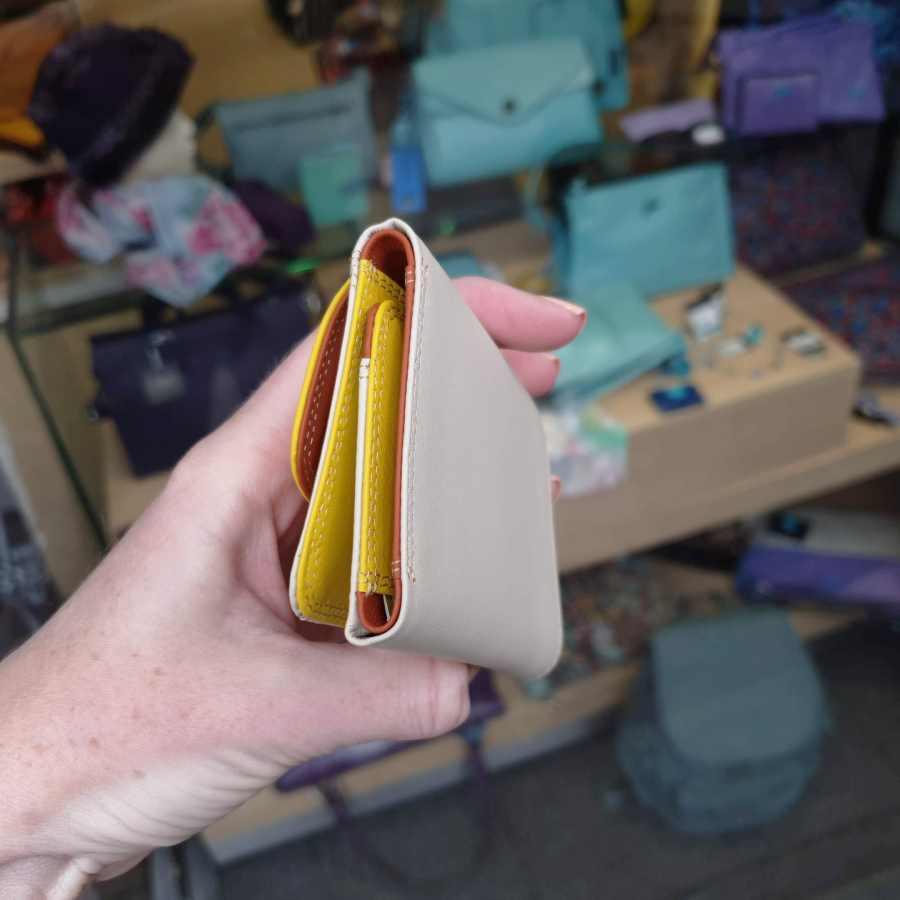 MyWalit 243 Mini Tri-fold Wallet beige