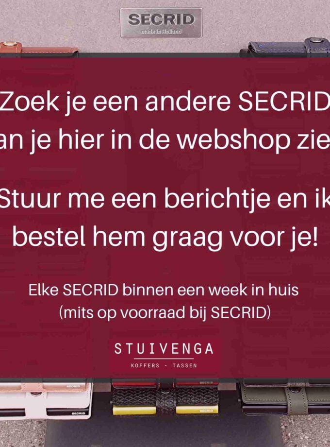 secrid webshop