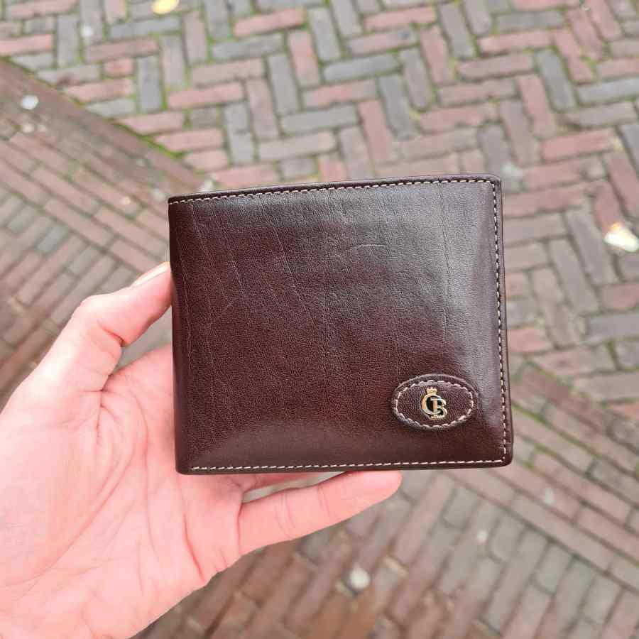 424288 MO CB portemonnee bruin