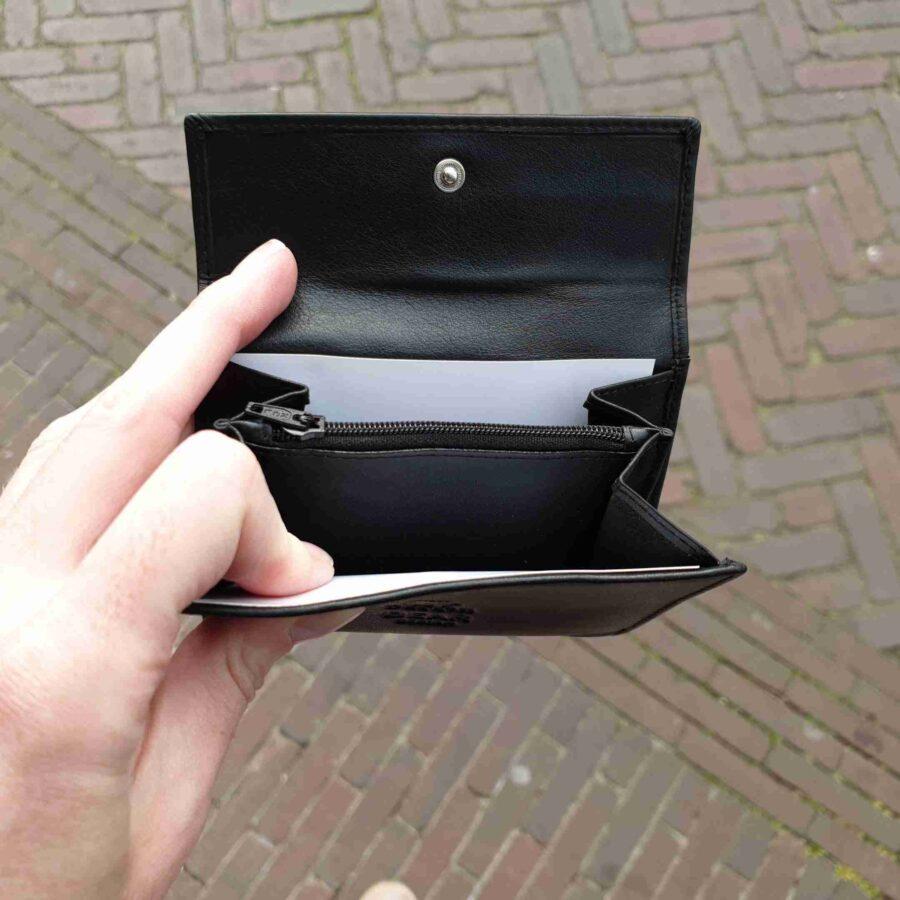 Bear Design FR 8116 portemonnee zwart zacht leer