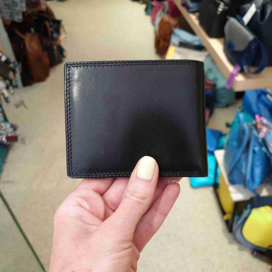 Beardesign billfold herenportemonnee 6 CC in zwart