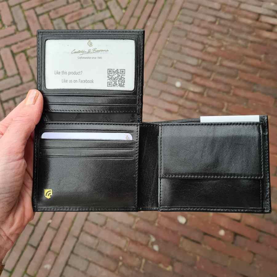 Castelijn en Beerens Billfold 9 creditcards RFID