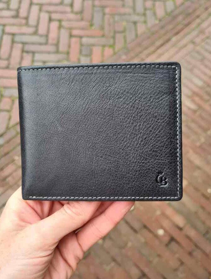 Castelijn en Beerens Billfold 11 creditcards zwart