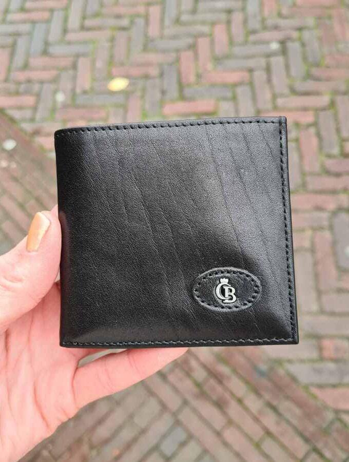 Castelijn & Beerens Billfold met clic-clac zwart