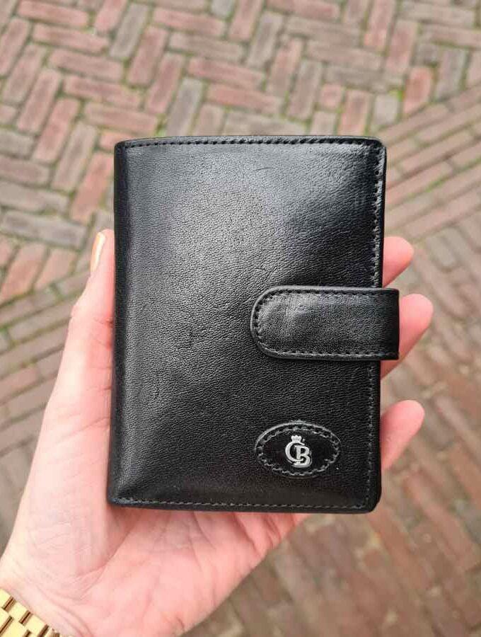 Castelijn en Beerens Gaucho met ritsvak 9CC RFID zwart