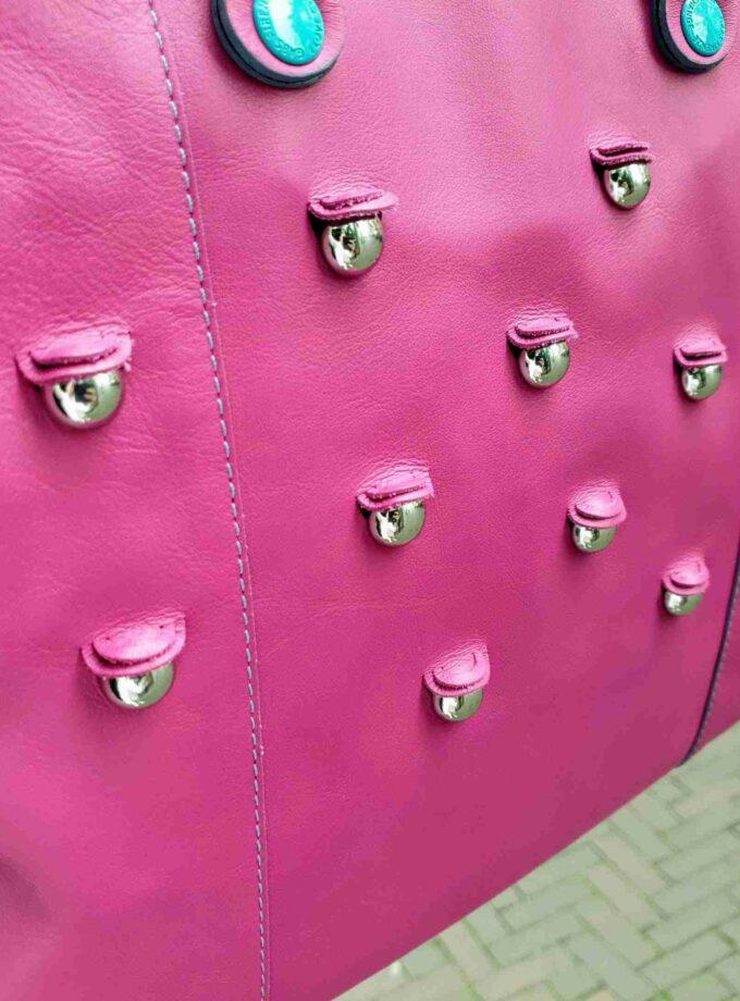 Gabs G3 HEAD Medium Fuchsia roze zilveren dopjes
