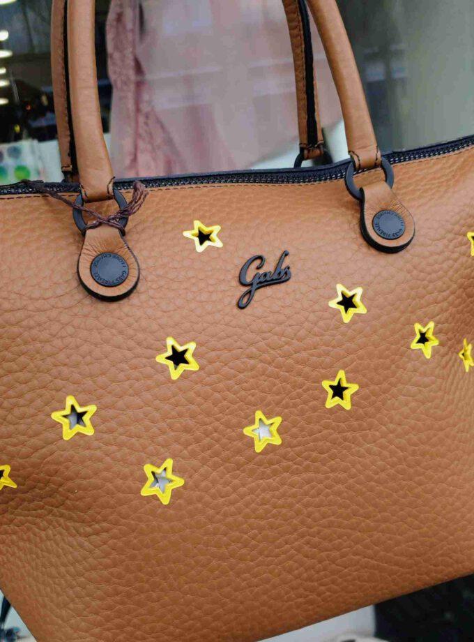 Gabs G3 Medium X1248 cognac met gele sterren