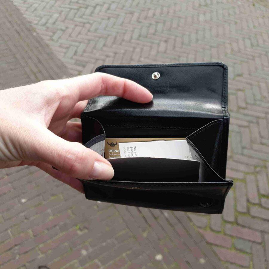 Golden Head portemonnee met drukkers zwart