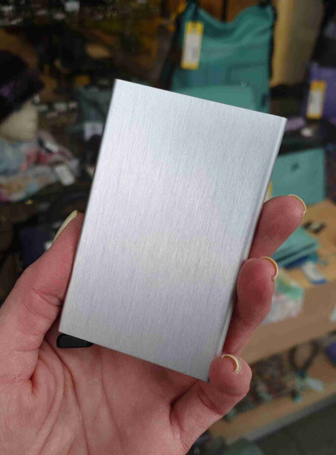 Secrid Cardprotector C-brushed silver