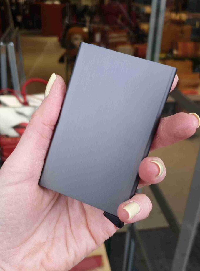 Secrid Cardprotector CLa-zigzag titanium