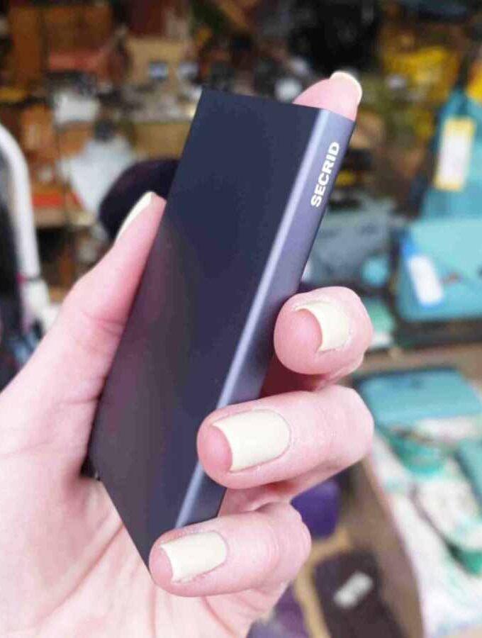 Secrid Cardprotector Titanium Grijs