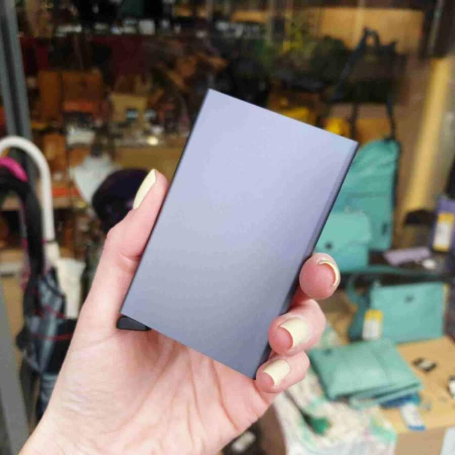 Secrid Cardprotector Titanium Grijs rfid