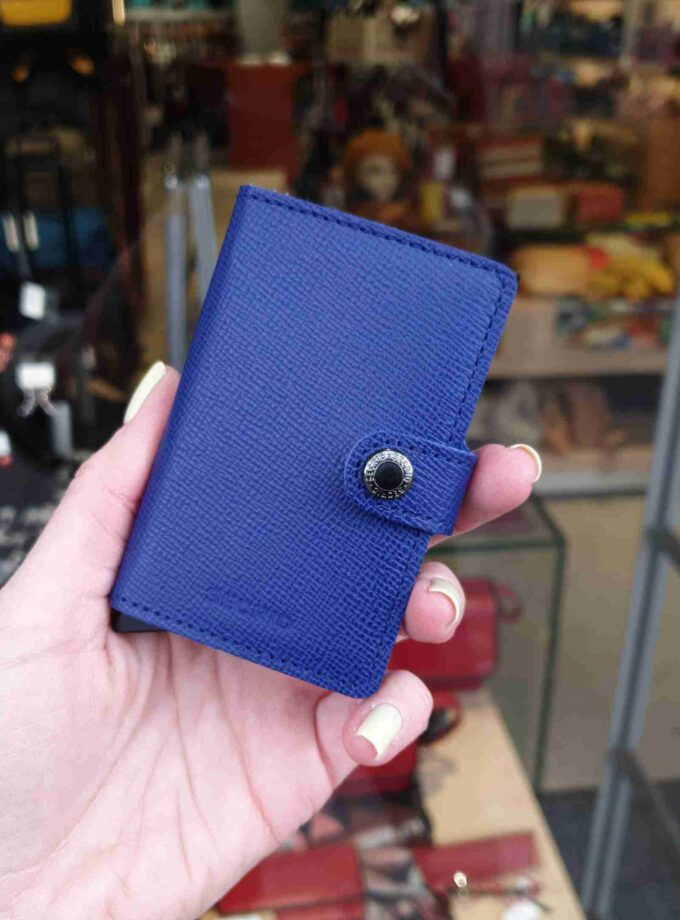 Secrid Miniwallet MC-blue-black blauw