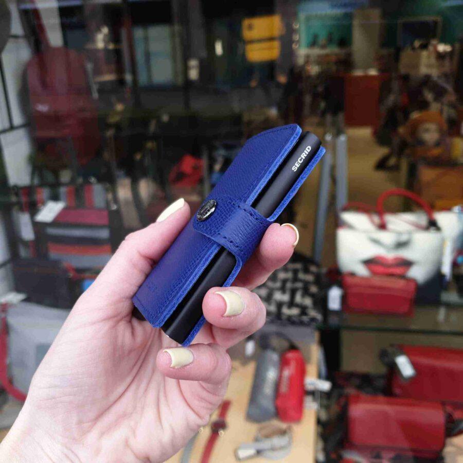 Secrid Miniwallet MC-blue-black blauw