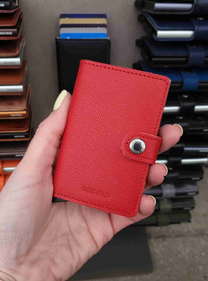 Secrid Miniwallet MC-red Crisple rood