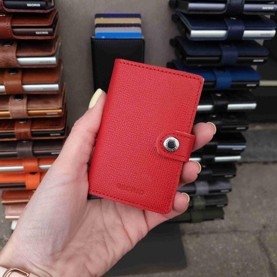 Secrid Miniwallet MC-red Crisple rood