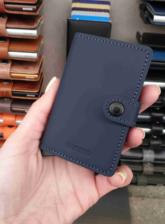 Secrid Miniwallet Matte MM-nightblue