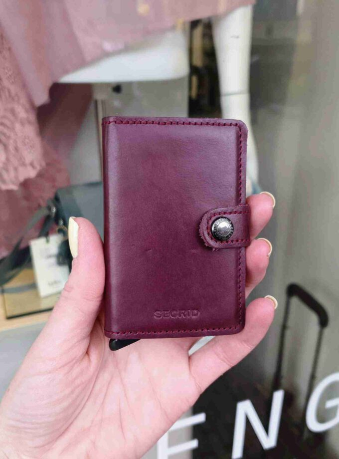 Secrid Miniwallet Original MO-bordeaux