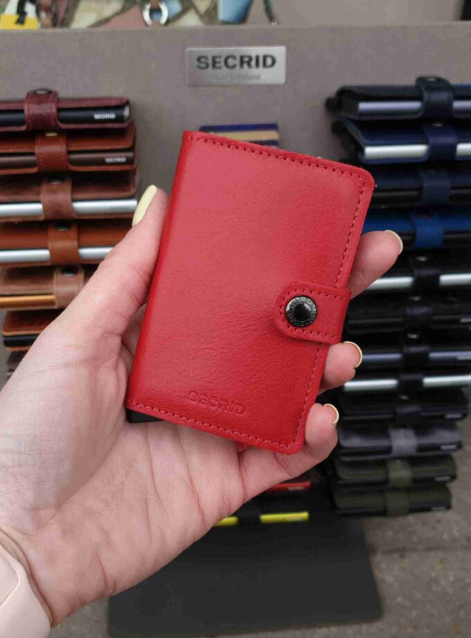 Secrid Miniwallet Original Red rode cardprotector
