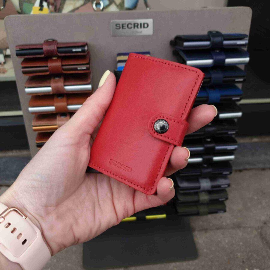 Secrid Miniwallet Original Red rode cardprotector