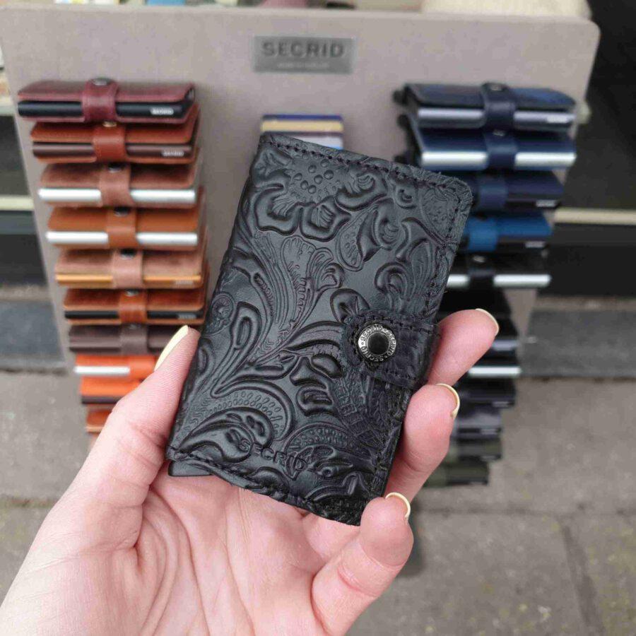 Secrid Miniwallet Ornament Black 3D