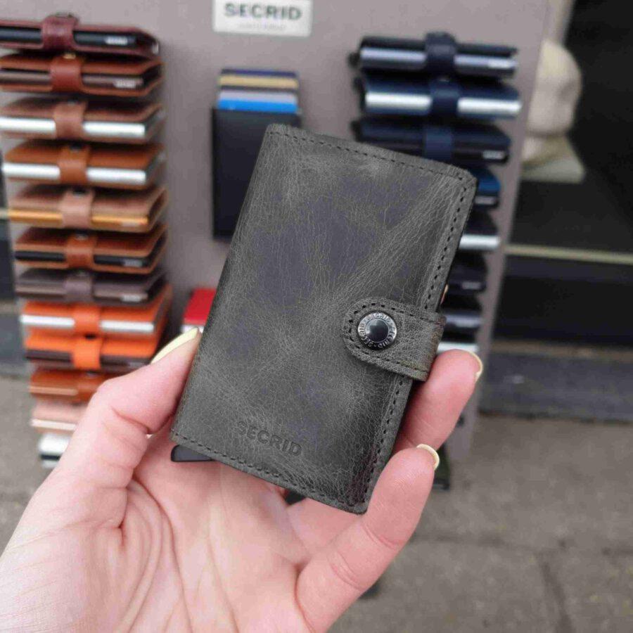Secrid Miniwallet Vintage Olive Black