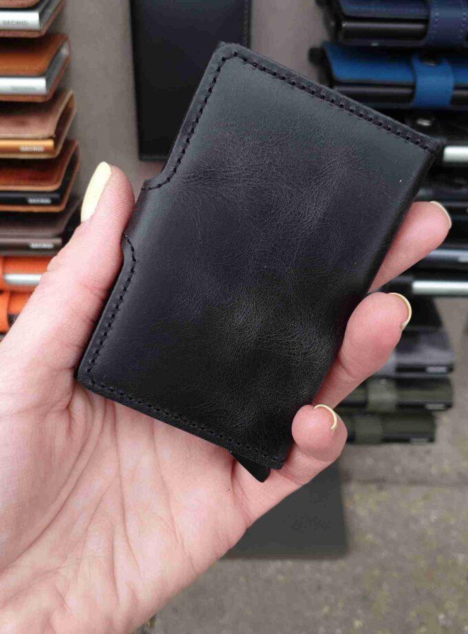 Secrid Miniwallet Vintage zwart MV-Black