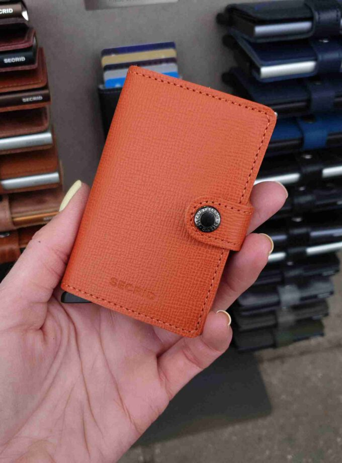 Secrid Miniwallet crisple oranje MC-Orange