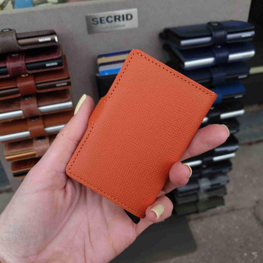 Secrid Miniwallet crisple oranje MC-Orange