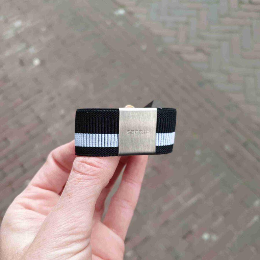 Secrid Moneyband Zebra zwart met wit