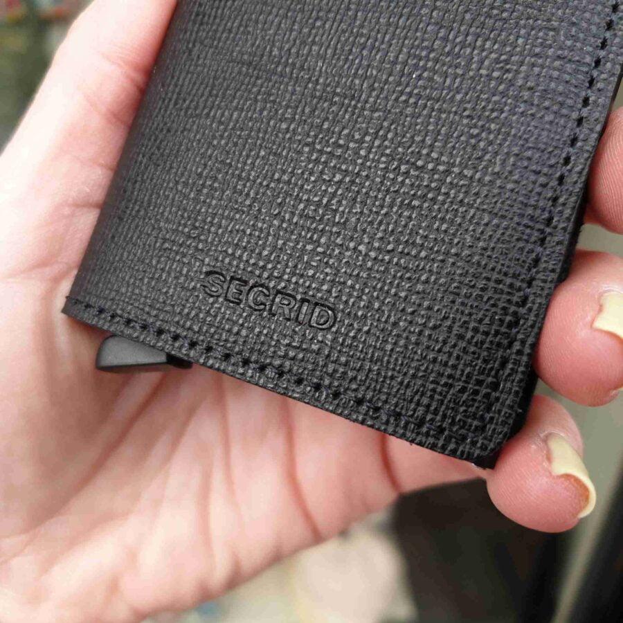 Secrid Slimwallet Crisple SC-black zwart