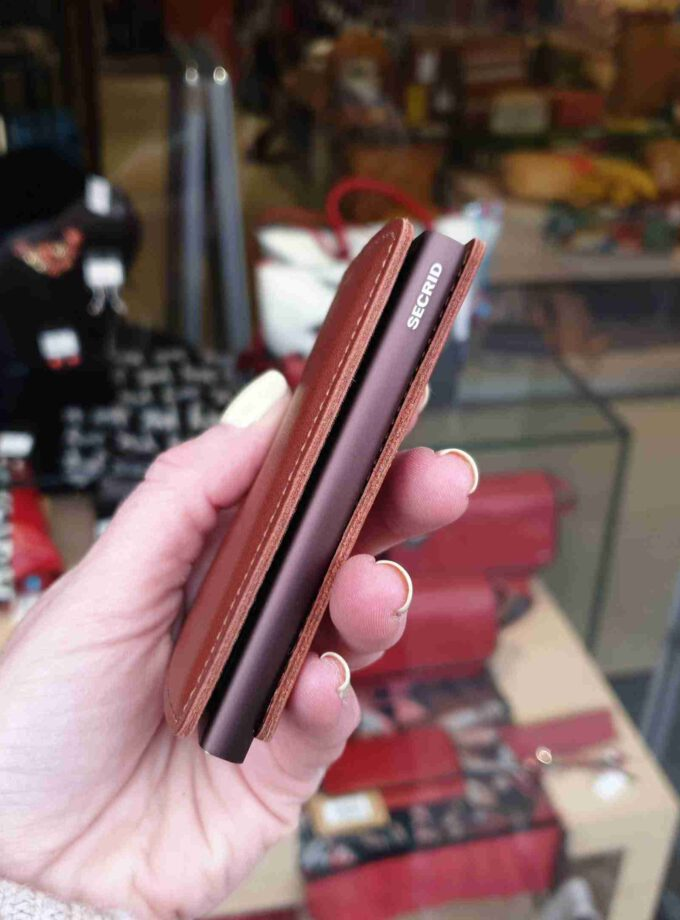 Secrid Slimwallet Original SO-cognac brown
