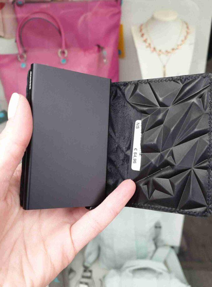 Secrid Slimwallet Prism SPr-black zwart
