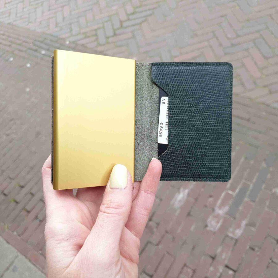 Secrid Slimwallet Rango Green Gold