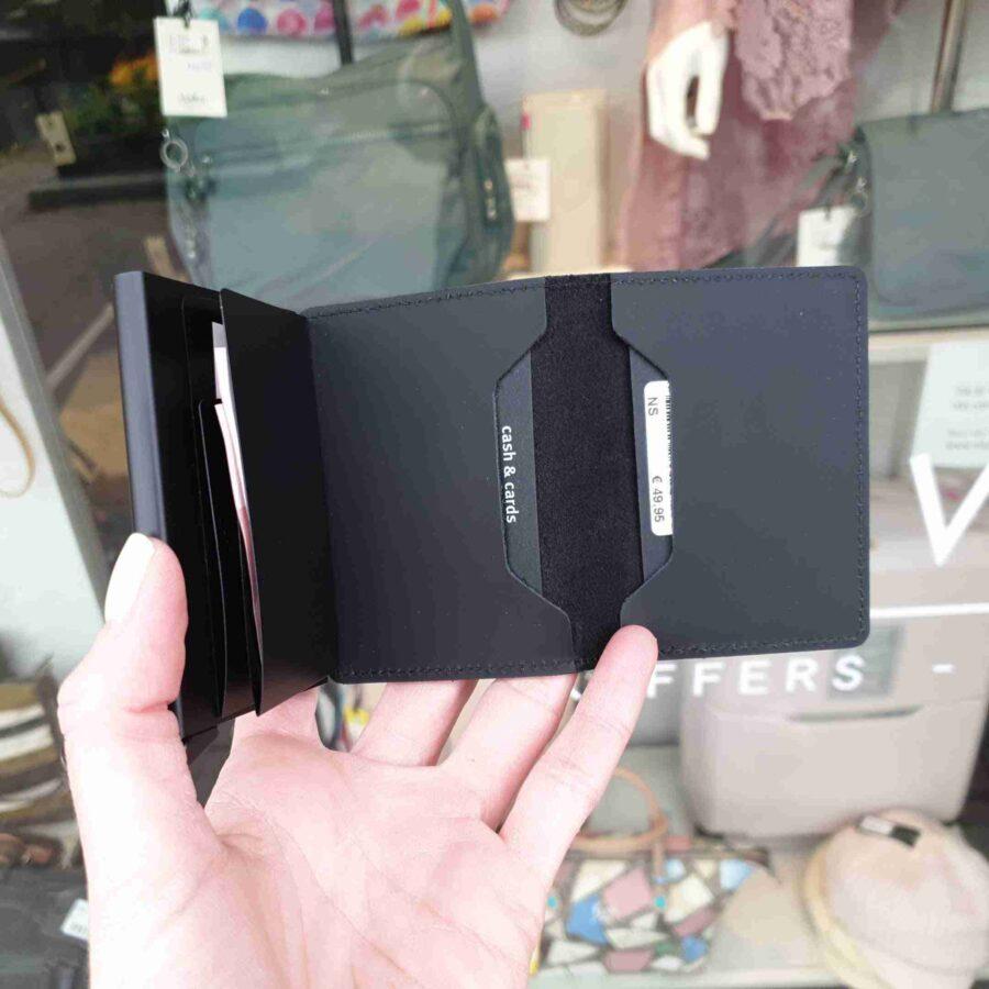 Secrid Slimwallet SM-black Matte zwart