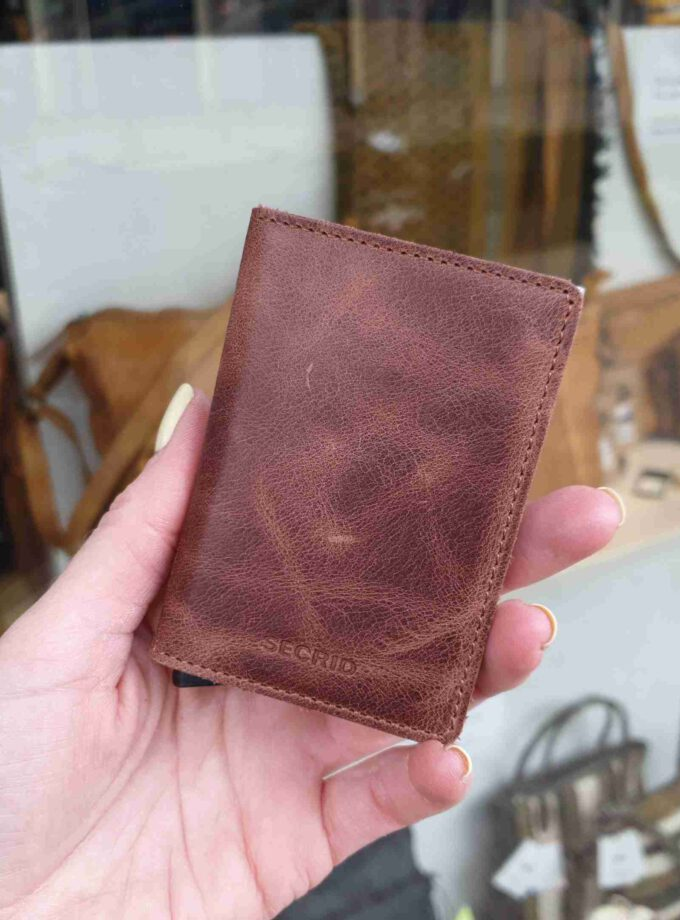 Secrid Slimwallet Vintage SV-Brown bruin