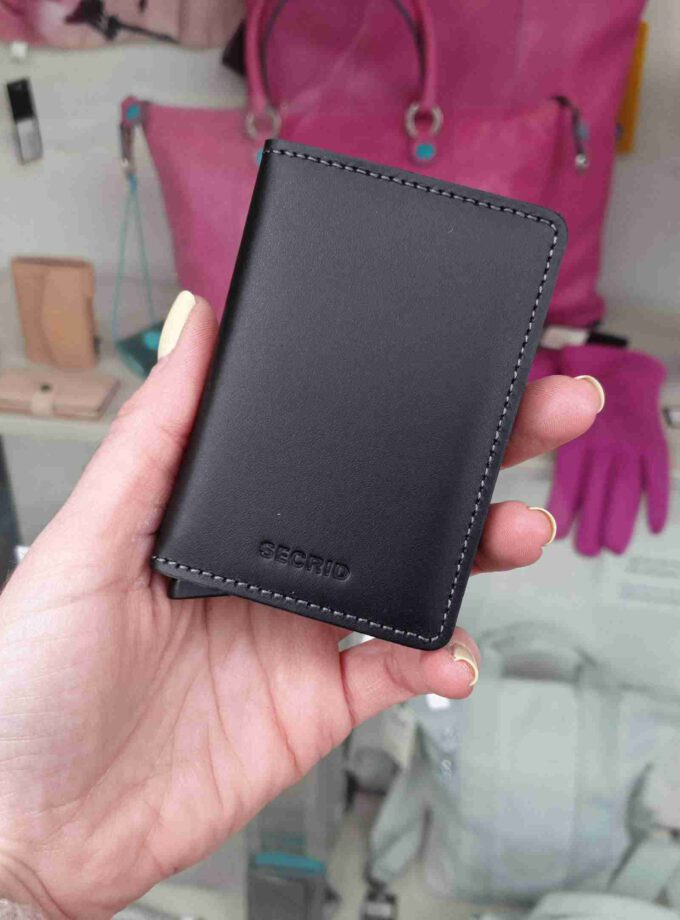 Secrid Slimwallet original SO-Black zwart