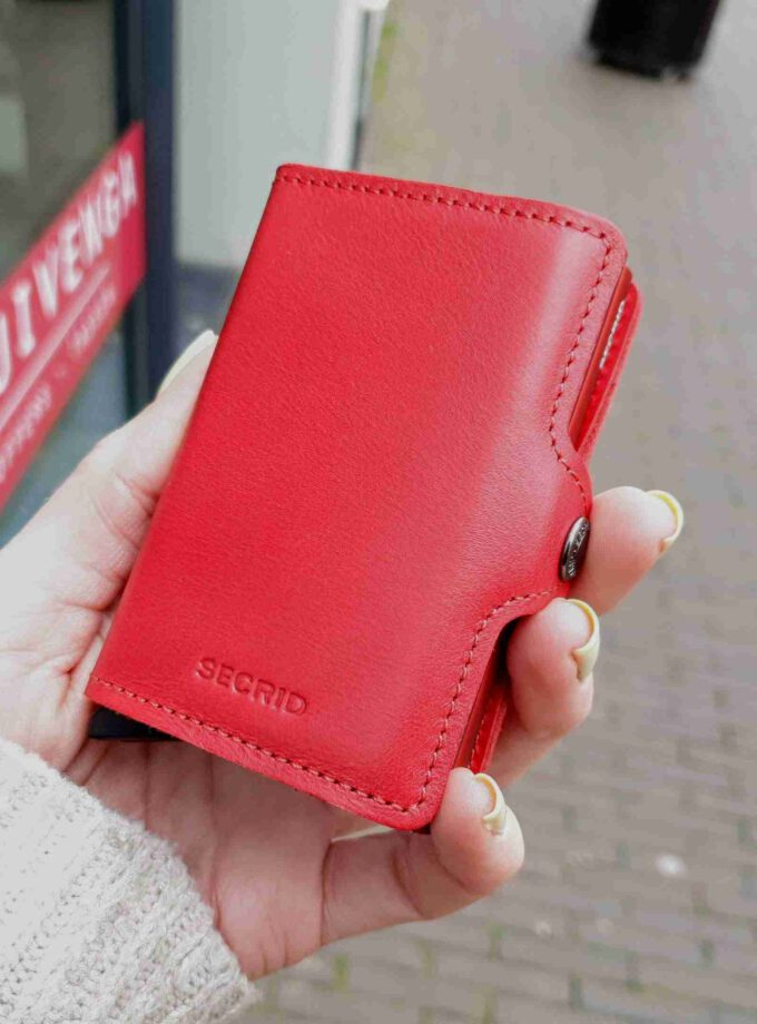 Secrid TwinWallet Original TO-red-red