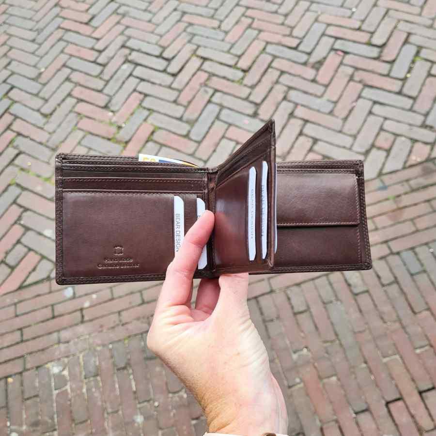 grote portemonnee veel pasjes
