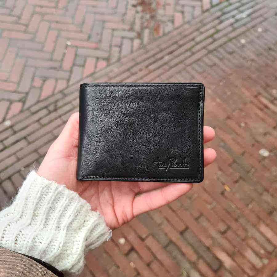 Tony Perotti Billfold RFID 11 CC in zwart