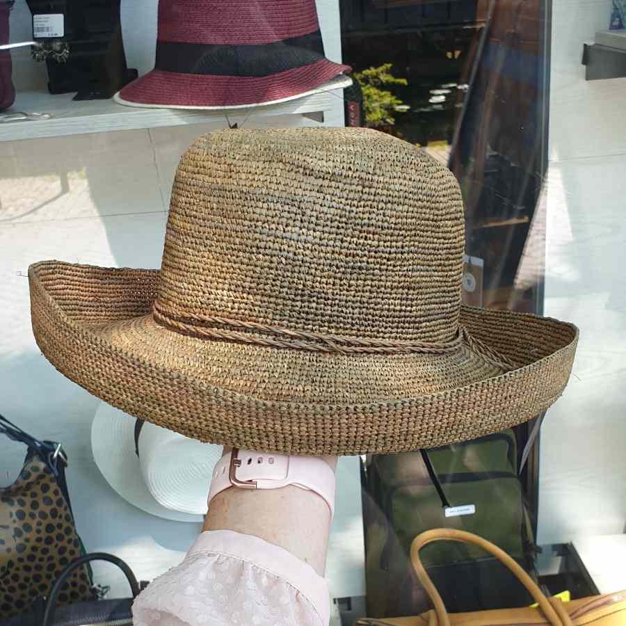 bruin hoed zomer
