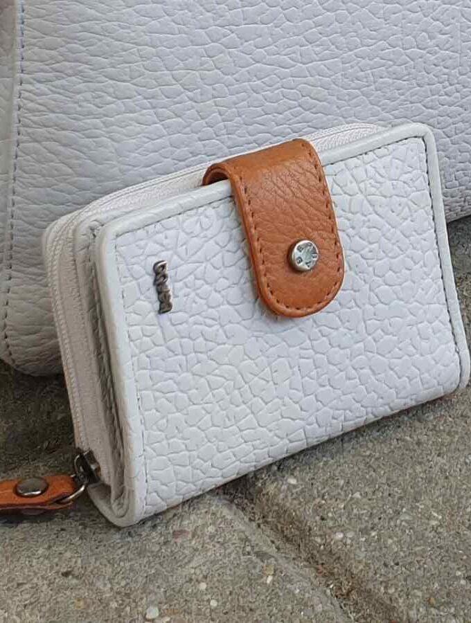 berba witte portemonnee