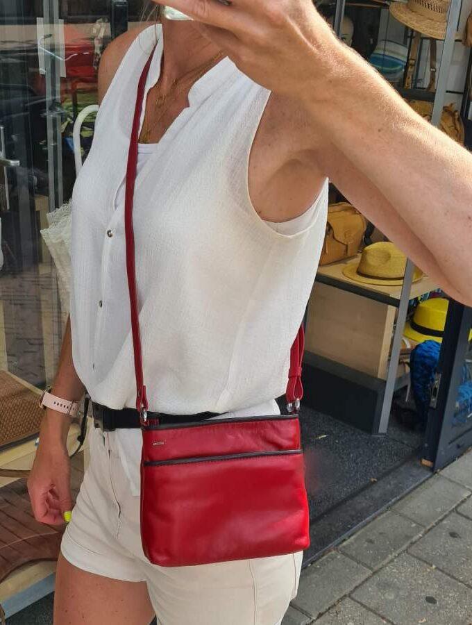 Berba rood soft 005-330 klein tasje