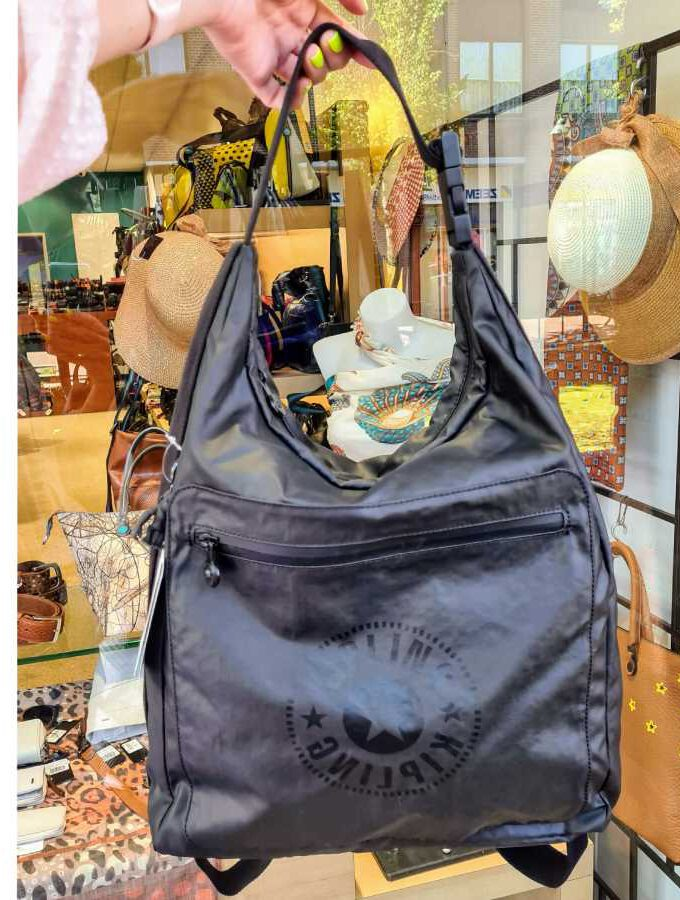 Kipling Morie Raw Black