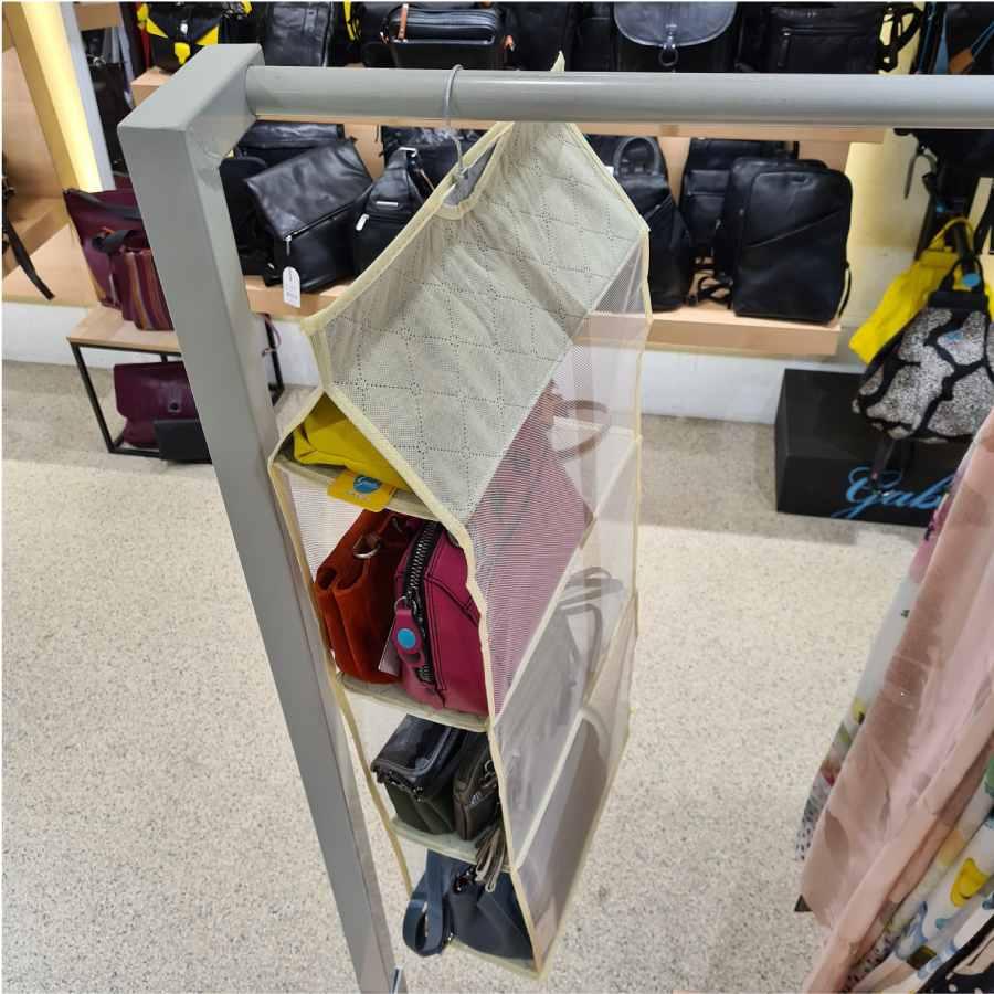 Tassenhanger 4 lagen voor in kledingkast