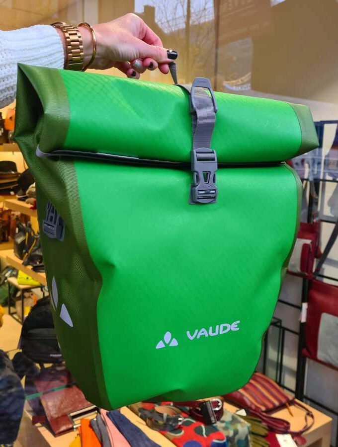 Fietstas Vaude Aqua Back Parrot Green Waterproof