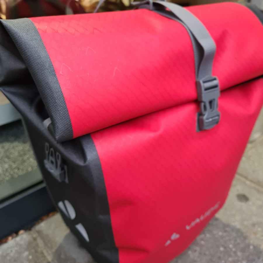 Fietstas Vaude Aqua Back Red Waterproof SINGLE