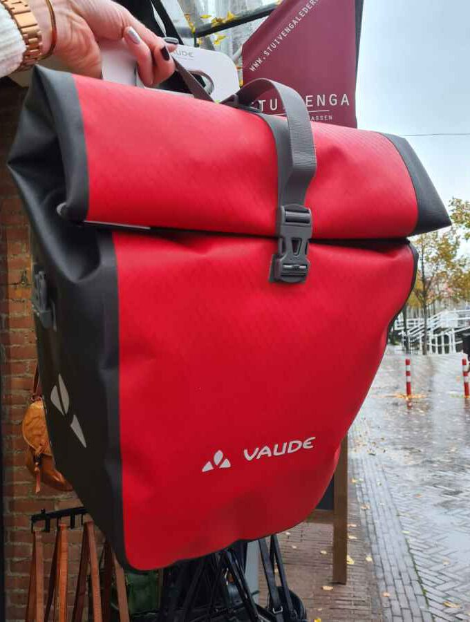 Fietstas Vaude Aqua Back Red Waterproof SINGLE